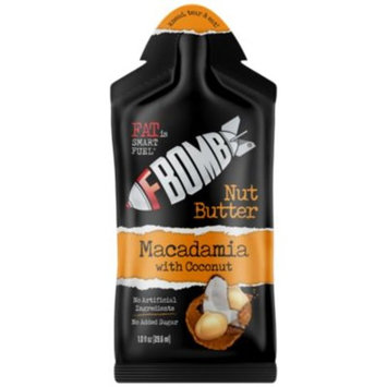 F Bomb Macadamia Nut Butter - COCONUT (10 Box) by FBomb at the Vitamin Shoppe