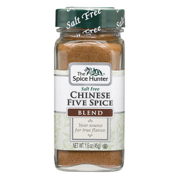 The Spice Hunter Salt Free Chinese Five Spice Blend 1.6 oz Glass Bottles - Pack of 1