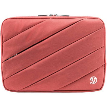 VanGoddy Jam Padded Sleeve for 11.6 to 12 Inch Laptops and Tablets (Pink)