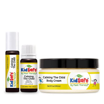 Plant Therapy KidSafe Calming the Child Set, Made with 100% Pure Essential Oils