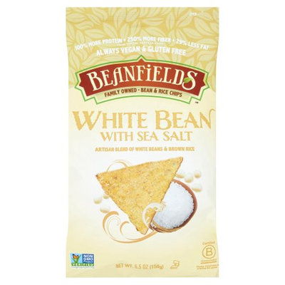 Beanfields, Chip White Bean Sea Salt, 5.5 Oz (Pack Of 6)