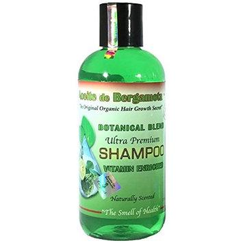 Bergamot Shampoo Ultra Premium 350ml/12oz, Shampoo de Bergamota Hair Rewroth, Eco Friendly