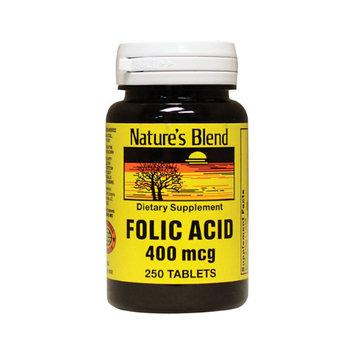 Folic Acid 400 mcg - 250 Tablets by 21st Century
