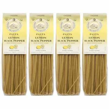 Pastificio Morelli Durum Wheat Pasta with Lemon Pepper (pack of 4)