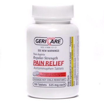 Non Aspirin Pain Reliever Tablets 100/bottle
