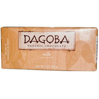 Dagoba Organic Chocolate, Milk Chocolate, 2 oz(pack of 4)