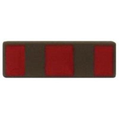USMC Warrant Officer 2 WO2 Subdued Metal Collar Rank Insignia (Pair)