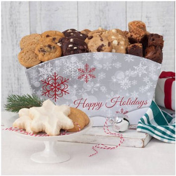 Mrs. Fields Holidays Cookie & Brownie Crate, 62 count