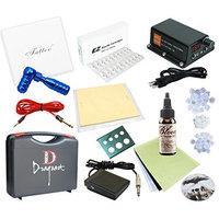 Complete Tattoo Kit 1 Machines Power Supply Bloodline ink