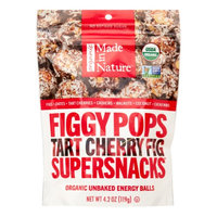 Made In Nature Organic FiggyPops, Tart Cherry, 4.2 Oz