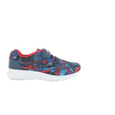 Spiderman Veryan Blue Hook and Loop Trainers UK Sizes Child 7 - Adult 1