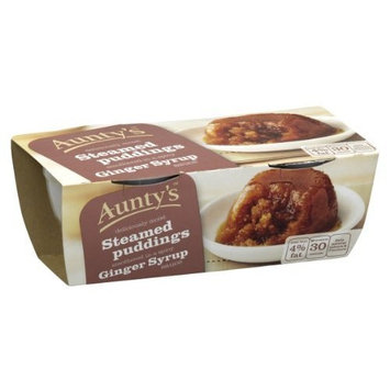 Auntys Ginger Syrup Steamed Pudding