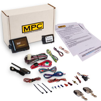 Mpc Complete Remote Start with Keyless Entry Kit For 2007 Lincoln Navigator -with Bypass Module -(2) 5 Button 1 Way Remotes