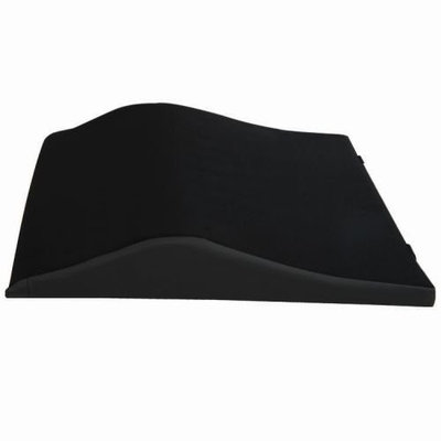 Roscoe Medical Foam Back Cushion with Lumbar Support, 18 x 17
