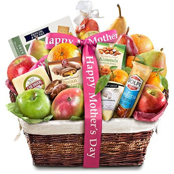 Golden State Fruit Gourmet Abundance Happy Mother's Day Fruit Basket Gift [Mother's Day]