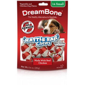 Petmatrix DreamBone RattleBall Chews, 14pk