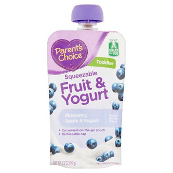 Parent's Choice Squeezable Fruit & Yogurt Blueberry, Apple & Yogurt