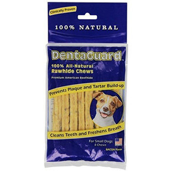 DentaGuard Dog Rawhide Chews, Small