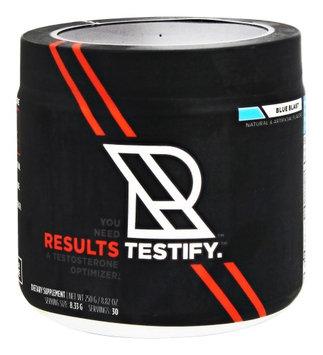TESTIFY - Blue Blast Results Nutrition 30 Servings