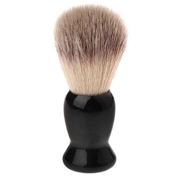 Yeahii Man's Shaving Bear Brush For Men Wood Handle Imitation Badger Hair For Men Gift Barber Tool Soft and Health Shaving Brush
