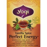 Yogi Tea Vanilla Spice Perfect Energy Tea Bags - 16 ct