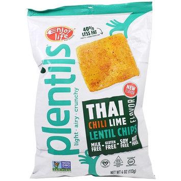 Enjoy Life Foods, Plentils, Lentil Chips, Thai Chili Lime Flavor, 4 oz (113 g) [Flavor : Thai Chili Lime]