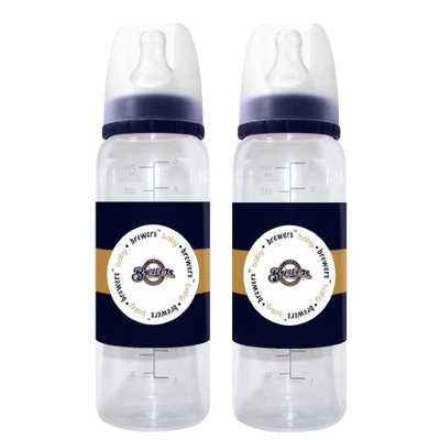 Cd Milwaukee Brewers Baby Bottles - 2 Pack-(Package of 2)