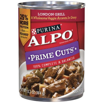 Alpo Prime Cuts Dog Food, In Gravy, London Grill, 13.2 oz (374 g) - NESTLE USA