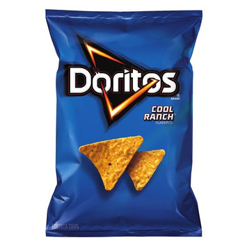Doritos Tortilla Chips, Cool Ranch, 2.875 Ounce (Pack of 28)