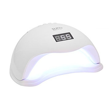 48W LED Nail Dryer UV Curing Professionally For All Gel Nails Toe Nail Auto On / Off Sensor Upgraded with 4 Timer Setting Home and Salon
