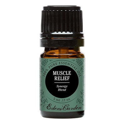 Muscle Relief (100% Pure, Undiluted Therapeutic/Best Grade) Premium Aromatherapy Oils by Edens Garden- 5 ml