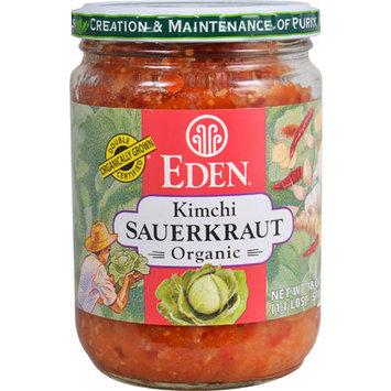 Eden Foods Organic Sauerkraut -- 18 oz Kimchi -- 18 oz