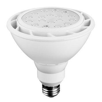 Euri Lighting Lightbulbs 100W Equivalent White PAR38 Dimmable LED Flood Light Bulb EP38-1050ew