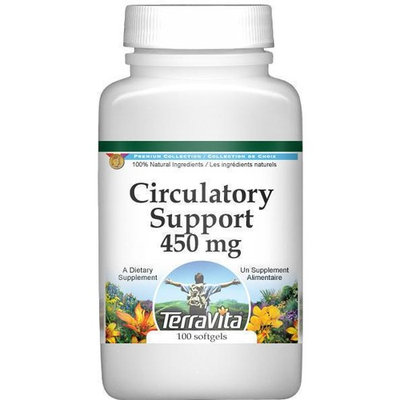 Circulatory Support - Ginkgo and Hawthorn - 450 mg (100 capsules, ZIN: 514013)