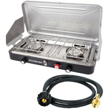 Stansport Outfitter Series Propane Stove With 5' Connection Hose