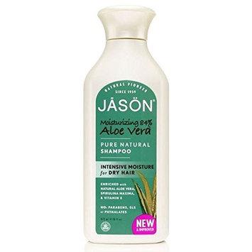 Jason Aloe Vera 84% Pure Natural Shampoo 475ml (PACK OF 2)