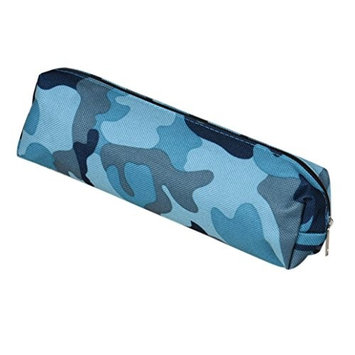 DZT1968 4 Colors Camouflage Pen Bag Pencil Case Pouch Stationery Cosmetic Makeup Bag uf