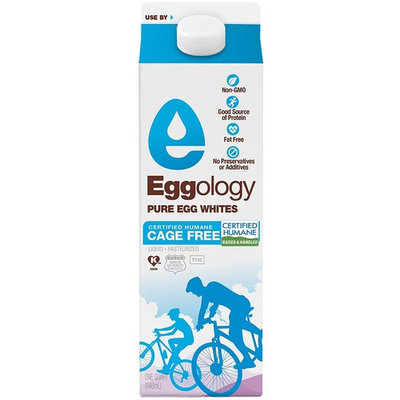 Eggology Certified Humane Cage Free Pure Egg Whites, 32oz, 12 count
