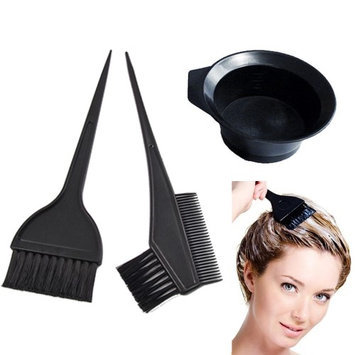 Atb Salon Hair Coloring Dyeing Kit Color Dye Brush Comb Mixing Bowl Tint Tool Bleach