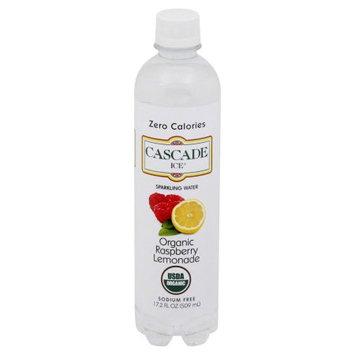 Cascade Ice Naturally Flavored Sparkling Water, Organic Rasberry Lemonade, 17.2 Fl Oz