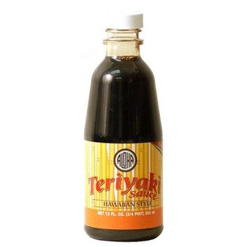 Island Girl IG342 Hawaiian Style Teriyaki Sauce - Pack of 12