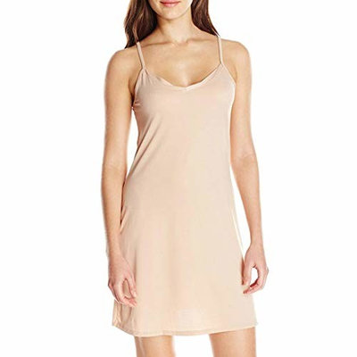 Fashion Women Ladies Sleeveless Solid Above Knee Dress Loose Party Dress for Womens
