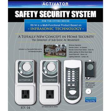 Safeguard Activator RX-14C Infrasonic Multiple Sensor Home Security System, Silver