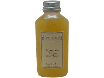Poggesi Coco Mango Shampoo Lot of 2oz Bottles. Total of 12oz. (Pack of 6)