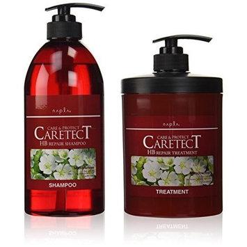 NAPLA Napura Caretect HB Repair Shampoo & Treatment 750ml, 650g set