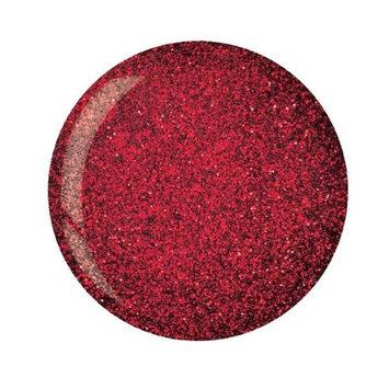 Cuccio Dip Dark Red Glitter 1.6 Oz #5545