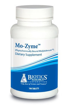 Biotics Research, Mo-Zyme Forte 100 Tablets