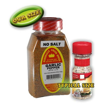 Marshalls Creek Spices Garlic Pepper Blend No Salt Seasoning, New Size, 11 Ounce [New Size]