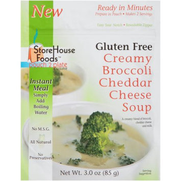 Storehouse Foods Soup Creamy Broccoli Cheddar Cheese 3 Oz Pack Of 6