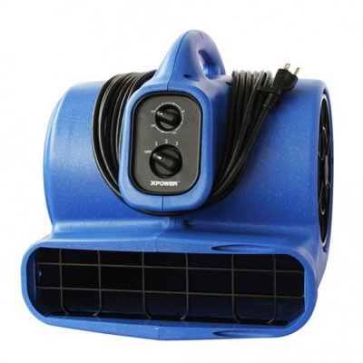 XPower 1/3 HP Air Mover and Pet Dryer